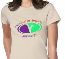 Approved Vagetarian Womens Fitted T-Shirt
