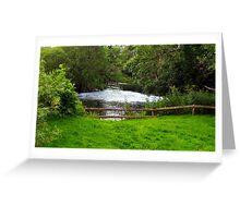 Peaceful River 3 Greeting Card