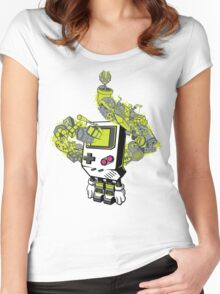 Pixel Dreams Women's Fitted Scoop T-Shirt