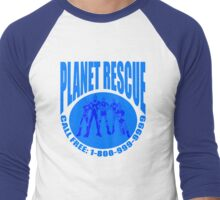 Planet Rescue Men's Baseball ¾ T-Shirt
