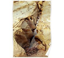 0131 Rock Study at Lorne Poster