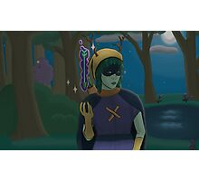 Huntress in the Woods Photographic Print