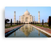 The Taj Mahal Canvas Print