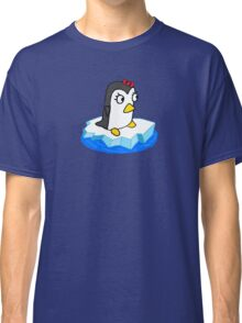 Girly Penguin Classic T-Shirt