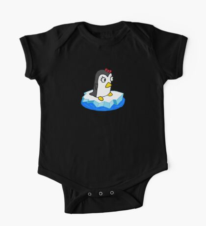 Girly Penguin One Piece - Short Sleeve