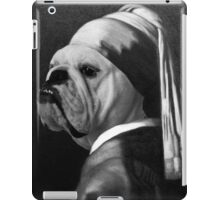 The Dog With The Pearl Earing SWAGTEES#06 iPad Case/Skin