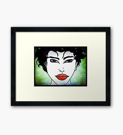 Woman © Framed Print
