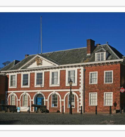 Custom House, Exeter Quay Sticker