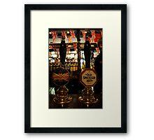 Sherlock Holmes Pub, London - Ales On Tap Framed Print