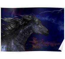 The Dark .. a stallions birth Poster