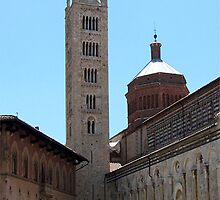 Cathedral in Masa Maricima Italy by Enri-Art