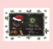 'Tis The Season To Be Jolly Holiday Greetings Baby Tee