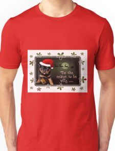 'Tis The Season To Be Jolly Holiday Greetings Unisex T-Shirt