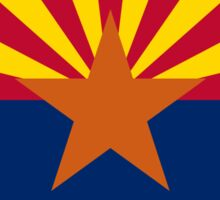 Phoenix Arizona State Flag T-Shirt Duvet Sticker Sticker