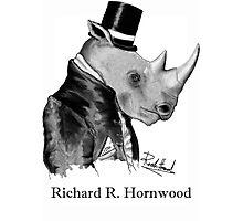 Richard R. Hornwood (Gentleman Rhino) Photographic Print