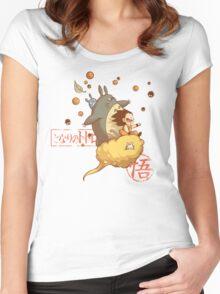 My friend goku Women's Fitted Scoop T-Shirt