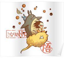 My friend goku Poster