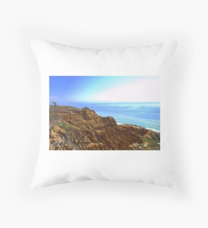 Cliffs Throw Pillow