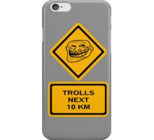 Trolls - kilometers iPhone Case/Skin