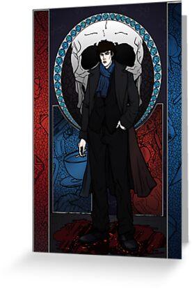 Sherlock Nouveau: Sherlock Holmes by Rebecca -