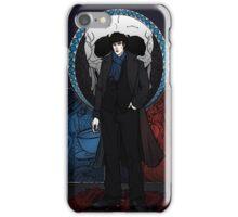 Sherlock Nouveau: Sherlock Holmes iPhone Case/Skin