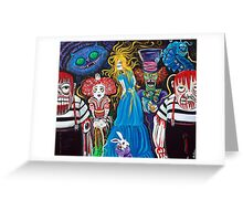 Alice in Zombieland Greeting Card