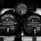 Gordan&#x27;s Wine Bar, London - Wine Barrels  by rsangsterkelly