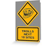Trolls - sites Greeting Card
