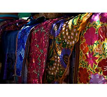 Colorful Fabrics Photographic Print