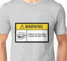 Warning - Trolls Unisex T-Shirt