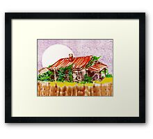 Ready to Fall In Framed Print