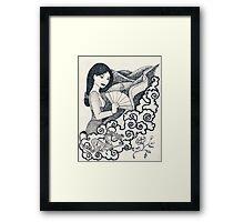 Iconic Mulan Framed Print