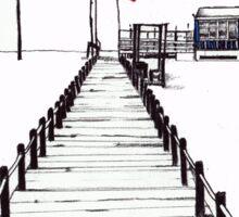 Figueira da Foz - Blue Beach Bar Sticker