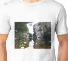 Peaceful mirror Unisex T-Shirt