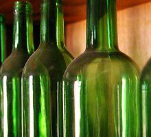 Green Bottles by Dinorah Imrie