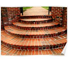 Brick Steps  ^ Poster