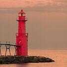 Algoma Lighthouse by Gary Lengyel