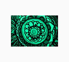 Green Floral Pattern Unisex T-Shirt