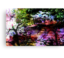 MONET ZEN GARDEN Canvas Print
