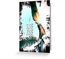 tribe vibe 2 Greeting Card