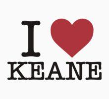 I Heart Keane by keanecalm