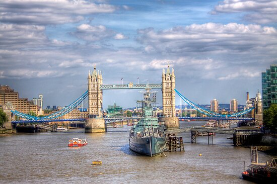 The Tower Bridge - London, United Kingdom by Mark Richards