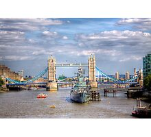 The Tower Bridge - London, United Kingdom Photographic Print