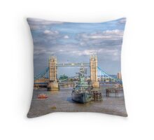 The Tower Bridge - London, United Kingdom Throw Pillow