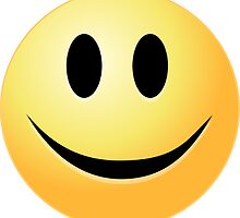 Smiley Face Sticker - Yellow Smile Duvet :o) by deanworld