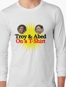 Troy and Abed on a T-Shirt Long Sleeve T-Shirt