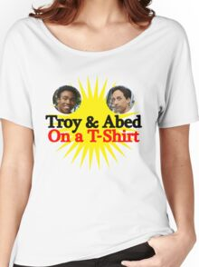 Troy and Abed on a T-Shirt Women's Relaxed Fit T-Shirt