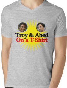 Troy and Abed on a T-Shirt Mens V-Neck T-Shirt