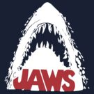 "Jaws ""vintage shirt design""  by BUB THE ZOMBIE"