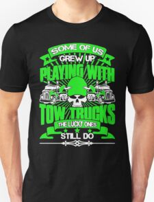 Playing With Tow Truck T-Shirt